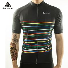 Racmmer 2018 Cycling Jersey Mtb Bicycle Clothing Bike Wear Clothes Short Kit Maillot Roupa Ropa De Ciclismo Hombre Verano #DX-08