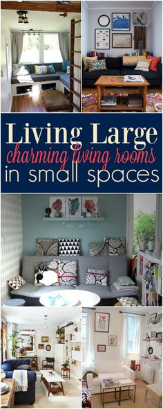Kerry Angelos   Living Large in Small Spaces: Charming Living Rooms   http://kerryrangelos.com
