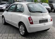 Nissan Micra-Auto car