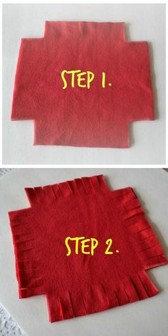 Wait until you see what she made -- without sewing a single stitch!: