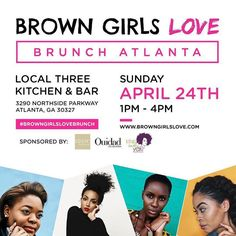 #Repost @lovebrownsugar  Off to ATL shawty! So excited to finally announce the first date & location for our #BrownGirlsLoveBrunch Tour - ATLANTA! Fly girls of ATL come hang with me & the @BrownGirlsLove team. Get tips & advice on how to get your personal brand or business off to an amazing start & bond with brown girls in your area who are killing the game. Early Bird tix are extremely limited - our first 10 supporters get a FREE canvas tote swag bag with beauty goodies from our sponsors…