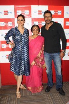 Ajay Devgn and Tabu promote Drishyam | PINKVILLA
