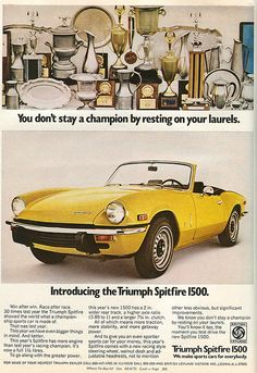 Triumph Spitfire - 1973 by rchappo2002, via Flickr