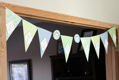 Monkey Themed Baby Shower Banner