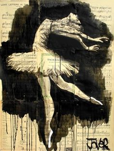 "Saatchi Online Artist Loui Jover; Drawing, ""in the moment"""
