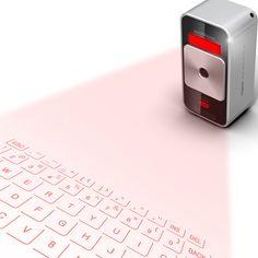 Laser keyboard for ipad