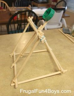 Cool DIY Crafts for Teens - Splash Bomb Catapult - Boys and Girls Love These Cool DIY Projects and Crafts Ideas - Fun Decor and Awesome Stuff To Make