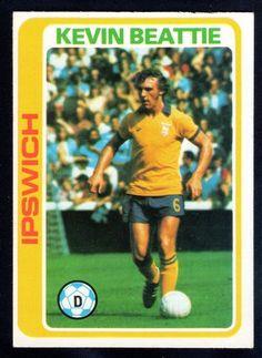 TOPPS FOOTBALLERS-PALE BLUE-1979-KEVIN BEATTIE-IPSWICH TOWN No.294