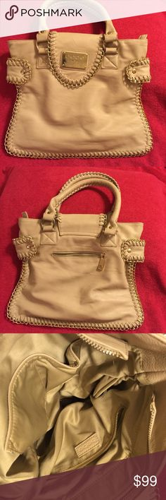Bebe Handbag Tan Bebe Handbag. Small size perfect for date nights. Black bag listed separately in another listing. Smoke free home bebe Bags Mini Bags