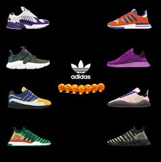 7585ca621f3 adidas Dragon Ball collaboration all shoes