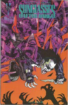 Cover to Sunglasses After Dark by Jason Pearson Comic Books Art, Comic Art, Savage Dragon, Glenn Danzig, Cartoon N, Dark Comics, Horror Comics, After Dark, My Books
