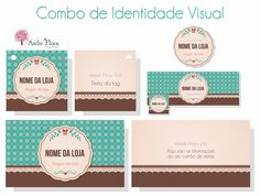 Ateliê Flora Design Gráfico: Combo de Logotipo e Identidade Visual: Vintage 3