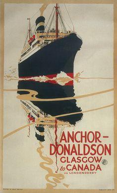 Anchor-Donaldson Glasgow Canada #cruise #travel