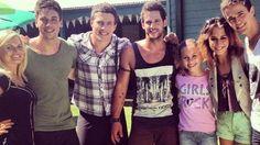 Ricky, Casey, Brax, Heath, Darcy, Phoebe and Kyle