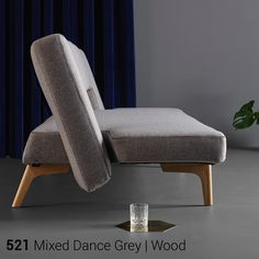 Innovation - Schlafsofa Puzzle Wood