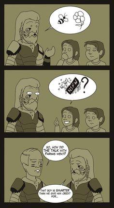 Skyrim Comic, Skyrim Fanart, Skyrim Funny, Tes Skyrim, Skyrim Game, Funny As Hell, Wtf Funny, Skyrim Vilkas, Dark Brotherhood
