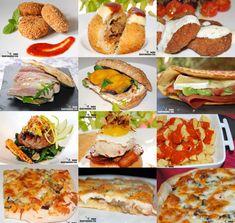 Doce recetas de comida rápida casera