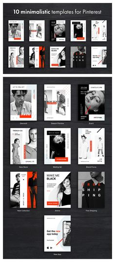 Hype Monger Social Media Pack by The One Box on @creativemarket