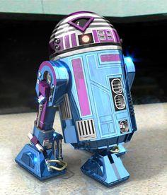 R7-C1 Star Wars Fan Art, Droides Star Wars, Star Wars Droids, Reina Amidala, R2 Unit, Disfraz Star Wars, Go Busters, War Novels, Star Wars Personajes