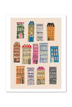 'City Living' by Danielle Kroll, prints on BuddyEditions.com
