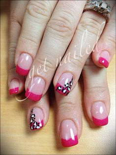 pink with black/white design
