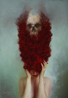 Quando il Demone Chiama – concept art by L-E-N-T-E- S-C-U-R-A
