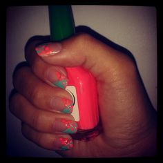 Nails neon