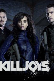 Killjoys -  good show -  comment - only show I've seen with guy gal buddies that works