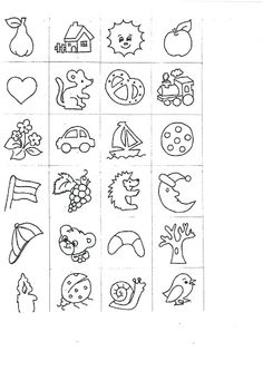 Óvodai jelek - Anikó Szabó - Picasa Webalbumok Autism Learning, Learning Activities, Activities For Kids, Literacy Worksheets, Math Literacy, Story Cubes, Baby Sewing Projects, Lessons For Kids, Drawing For Kids