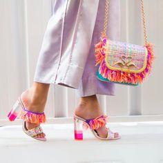 Sophie Webster Shoes, Sophia Webster, Sock Shoes, Shoe Boots, Shoe Bag, Fashion Shoes, Fashion Accessories, Peep Toe, Luxury Shoes