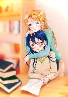 Umi Love Live, Girly, Yuri Anime, Anime Japan, Cute Anime Character, Anime Characters, Idol, Ships, Artist