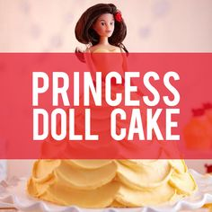 Learn how to make a Princess Doll Cake with the help of Wilton's Wonder Mold Pan!
