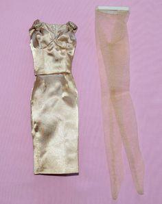 "TONNER 16"" DREAMETTES GOLD COCKTAIL DRESS OUTFIT FITS TYLER SYDNEY BRENDA STARR #Tonner #ClothingAccessories"