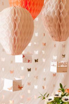 hot air balloon party decor-9911