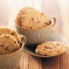 Egg-Free Toffee Chip Cookies Recipe from Taste of Home