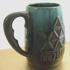 Vintage Blue Mountain Pottery Beer Stein Mug