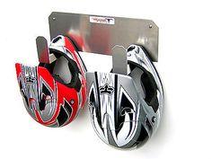 Helmet Hanger Hook Rack Holder Storage Enclosed Race Trailer Shop Organizer