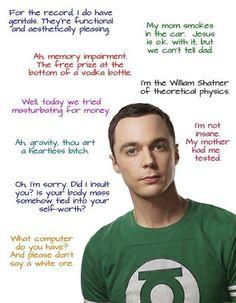 Sheldon quotes the-big-bang-theory