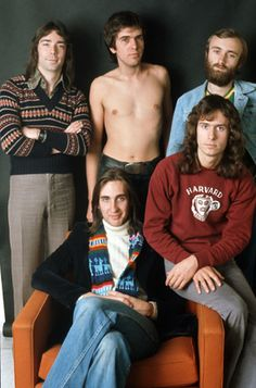 Genesis photographed at the Carre Hotel in Amsterdam Holland on February 24, 1975. © Peter Mazel
