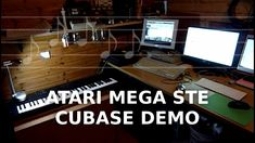 Atari Mega STE (Cubase Demo) (Roland XP10+SC155)