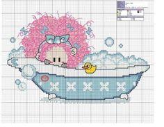 Peek-a-Boo Bath