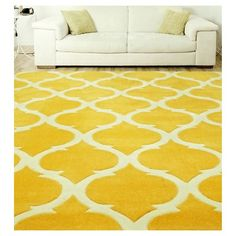 """nuLOOM Hand Tufted Marco Area Rug - Gold (7' 6"""" x 9' 6"""")"""
