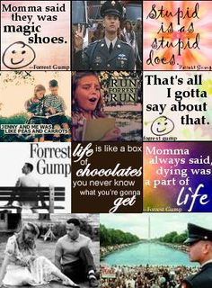 forrest gump random collage picture and wallpaper
