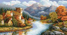 Ein Schloss am Fluss
