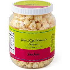 NM EXCLUSIVE White Truffle Parmesan Popcorn found on Polyvore ...