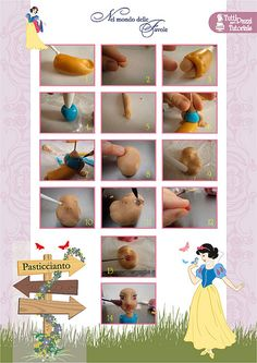 Step by step Snow White