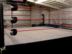 Boxing rings can be made with a few tools, common sense and a little elbow grease. Chris Mears, Choice Of Games, Mat Best, Street Dogs, Finn Balor, Workout Results, Professional Wrestling, Gilbert Beilschmidt, Boy Decor