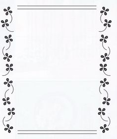 Boarder Designs, Page Borders Design, Borders For Paper, Borders And Frames, Molduras Vintage, Doodle Frames, Vintage Borders, Border Pattern, Parchment Craft