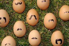 Moustache Eggs!!!