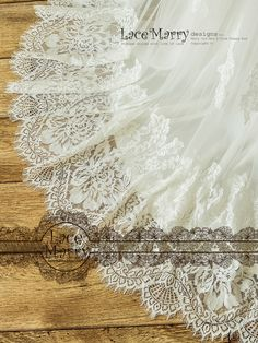 And bottom of the Skirt is Hemmed by Gorgeous Chantilly French Lace with Floral Pattern. The long removable sash from Tulle is Finishing the Bohemian Look! Bohemian Beach Wedding, Bohemian Look, Lace Wedding, Boho, Flower Applique, French Lace, Wedding Dress Styles, Sash, At Least